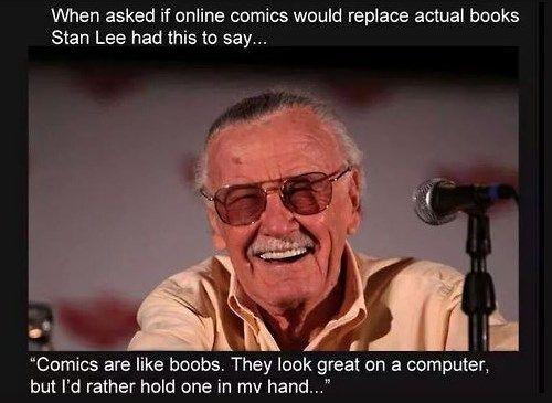 The Stan Lee Metaphor That All Comic Readers Understand