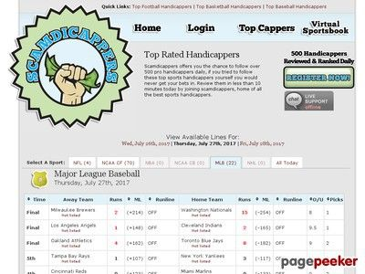 News Videos & more -  Scamdicappers - Tracking Sports Handicappers' Records and Picks #Music #Videos #News