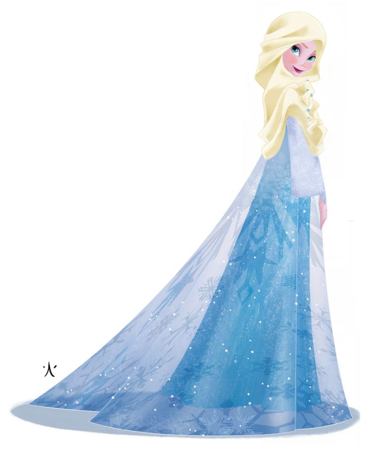 Disney (princess) Queen Elsa as a Muslim