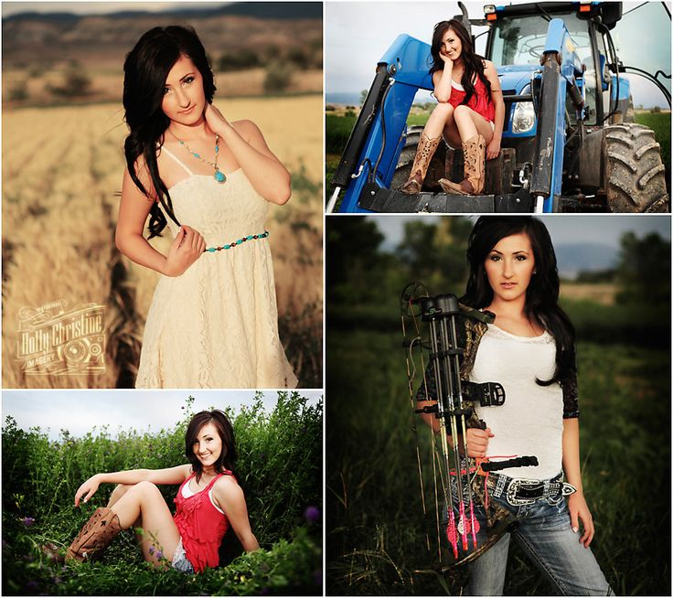 "Country girl high school senior portraits in Utah - beautifully done! Believe it or not you can be ""country"" without wearing tons of camo!!!"
