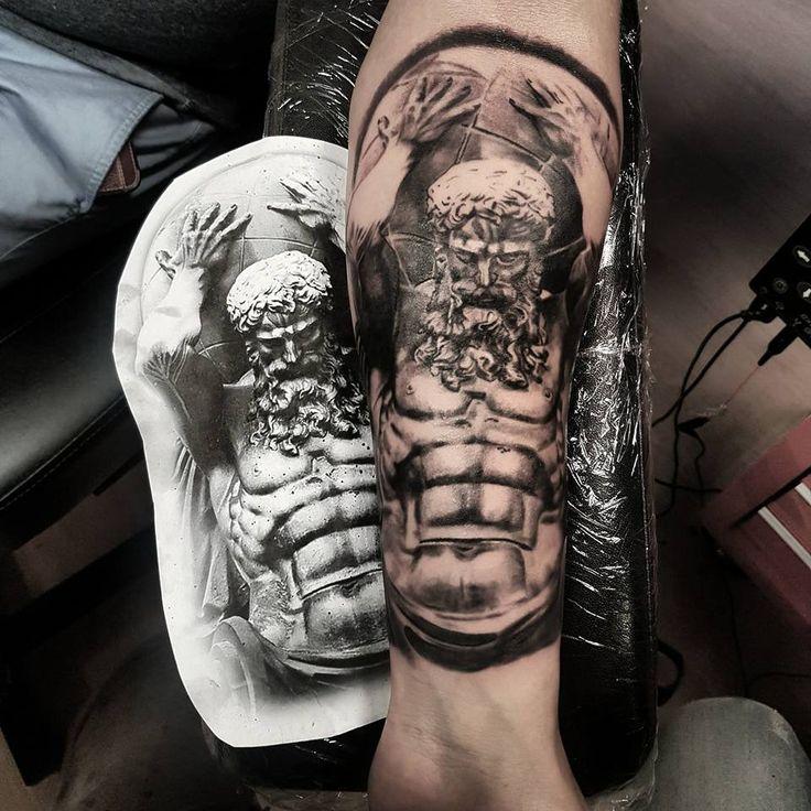 Best 25 atlas tattoo ideas on pinterest atlas bear for Revival tattoo and piercing