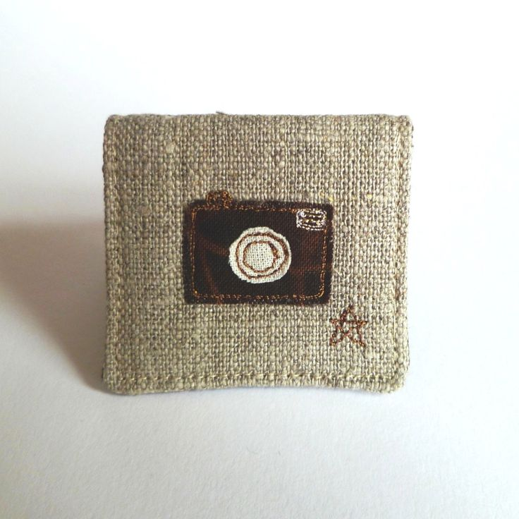 SD memory card case. Unique gift for photographer. Mini fabric pocket with cute camera design. Christmas stocking filler for him or her. by TheSewingTortoise on Etsy https://www.etsy.com/listing/237983198/sd-memory-card-case-unique-gift-for
