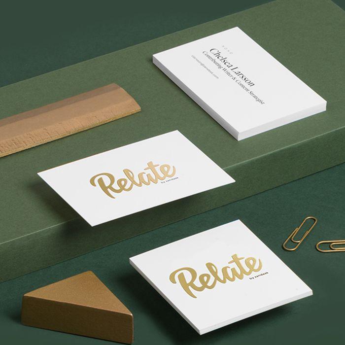 Pin By Kasia Skorupska On Bridal Foil Business Cards Gold Foil Business Cards Business Card Design
