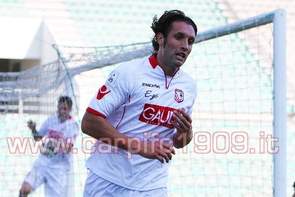 Alessandro Cesca, due reti quest'anno nel girone di andata