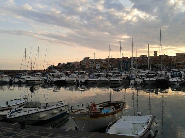 Marina di Camerota - barche