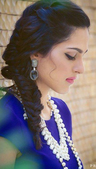 Indian Hairstyles Gorgeous 47 Best Hairstyles For Engagement Images On Pinterest  Hair Cuts