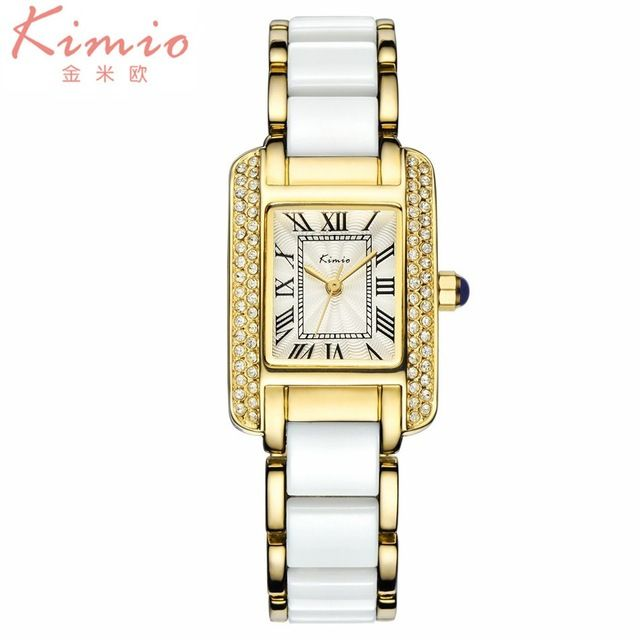 Kimio marca de luxo as mulheres se vestem de jóias algarismos romanos do vintage rhinestone relógios casual moda mulheres à prova d' água relógio de quartzo em Relógios das mulheres de Relógios no AliExpress.com | Alibaba Group