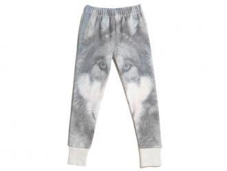 Wolf Print Leggings