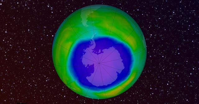 The Hole In The Ozone Layer May Be Healing