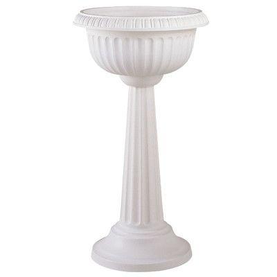 Found it at Wayfair - Grecian Round Pedestal Urn Planter