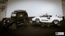 RC Car Trailer - Modellbau Autotransporter