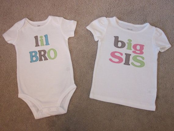 Big Brother Little Brother Big Sister by TheWhimsicalStitches, $18.00