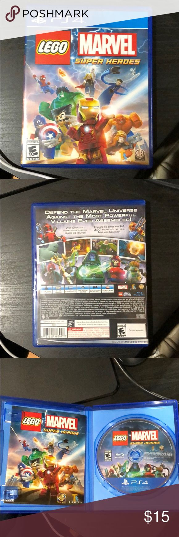 LEGO marvel super hero's PS4 It's a free roam game go anywhere you like and get all the characters! Other