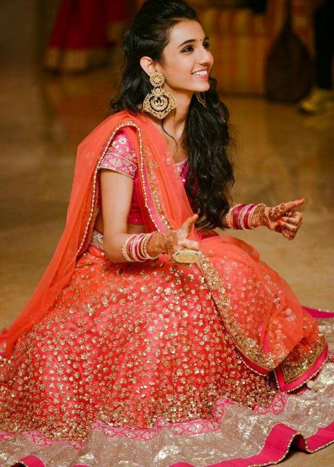 Bridal lehenga kindly contact for custom order ...