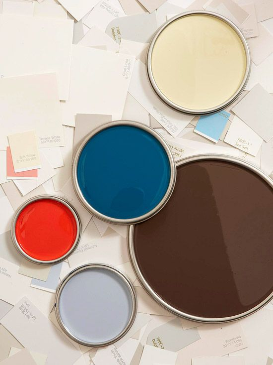 How to Use Color Swatches to Pick Paint Colors by BHG. Very helpful information for DIYers!