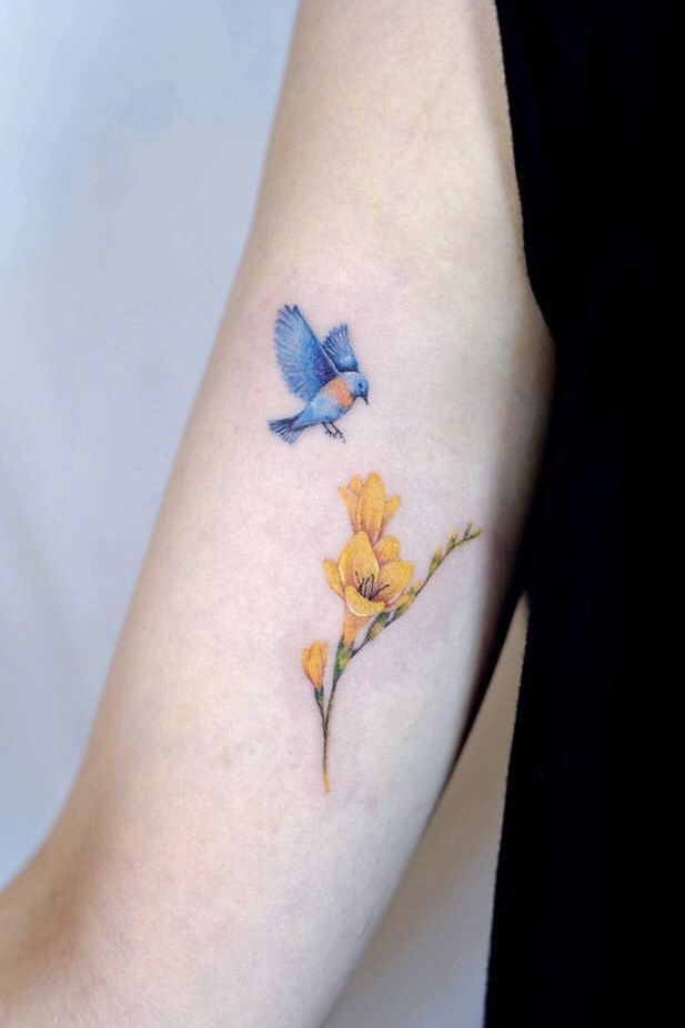 Pin On Dafodil Tattoo