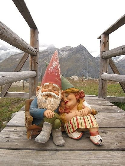 Gnomes, Zermatt, Switzerland