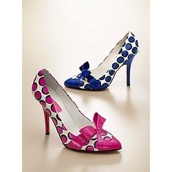 own the pink ones.  polka dot success.  thank you betsey johnson