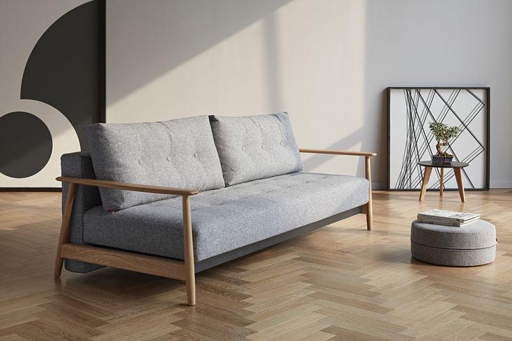 Una deluxe button oak sofa - 2018 Collection