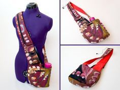 Cross-body Day Trip Bag - PDF Sewing Pattern + Free Tips for Pressing and Sewing