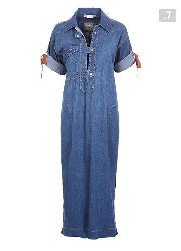 lovely denim dress by Alembika