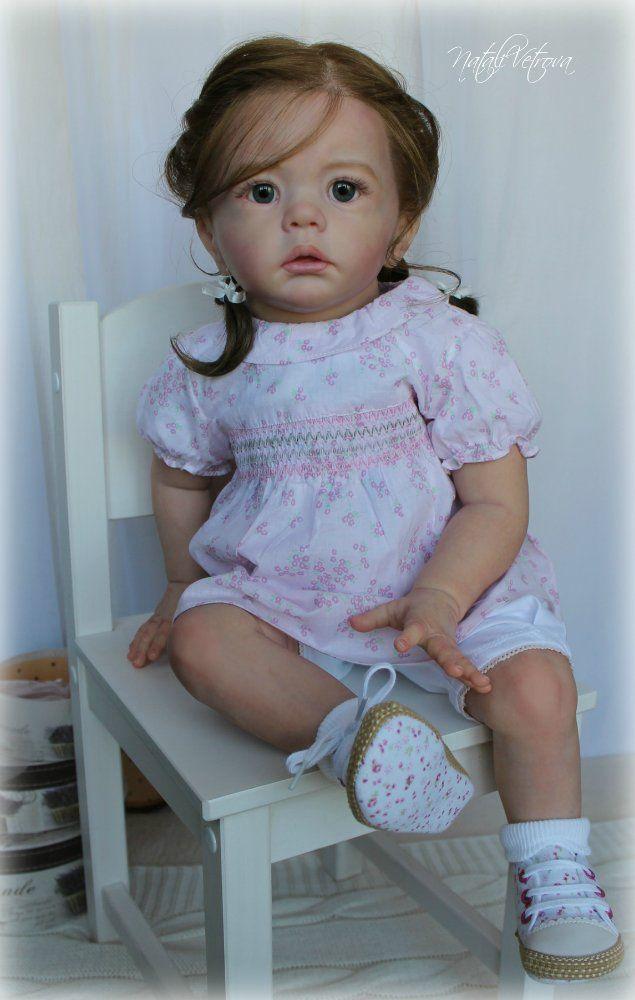 Шарлотта. Куклы реборн Натальи Ветровой / Куклы Реборн Беби - фото, изготовление своими руками. Reborn Baby doll - оцените мастерство / Бэйбики. Куклы фото. Одежда для кукол