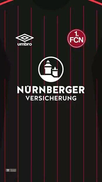 FC Nürnberg 17-18 kit alternative