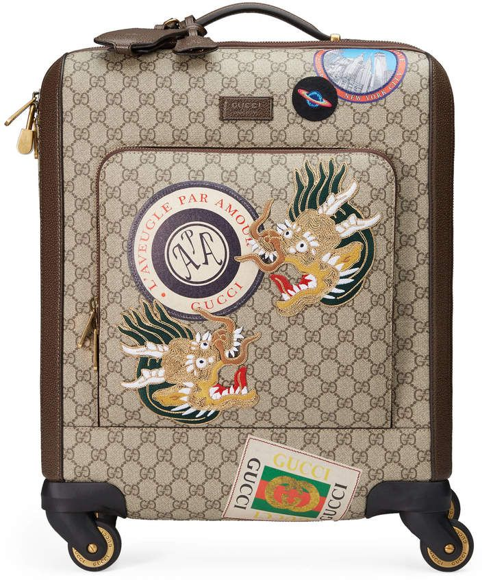 Gucci Courrier GG Supreme carry-on   travel   Pinterest   Supreme ... 8bcf957dd47