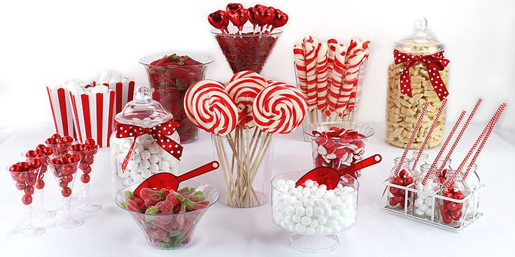 Red & White Candy Buffet | Asda Party