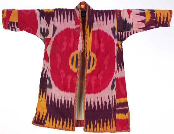 Central Asian ikats from the Rau collection - Victoria and Albert Museum
