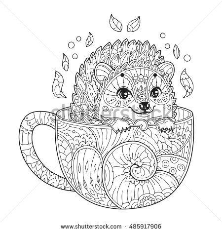 Coloring Page - Hedgehog