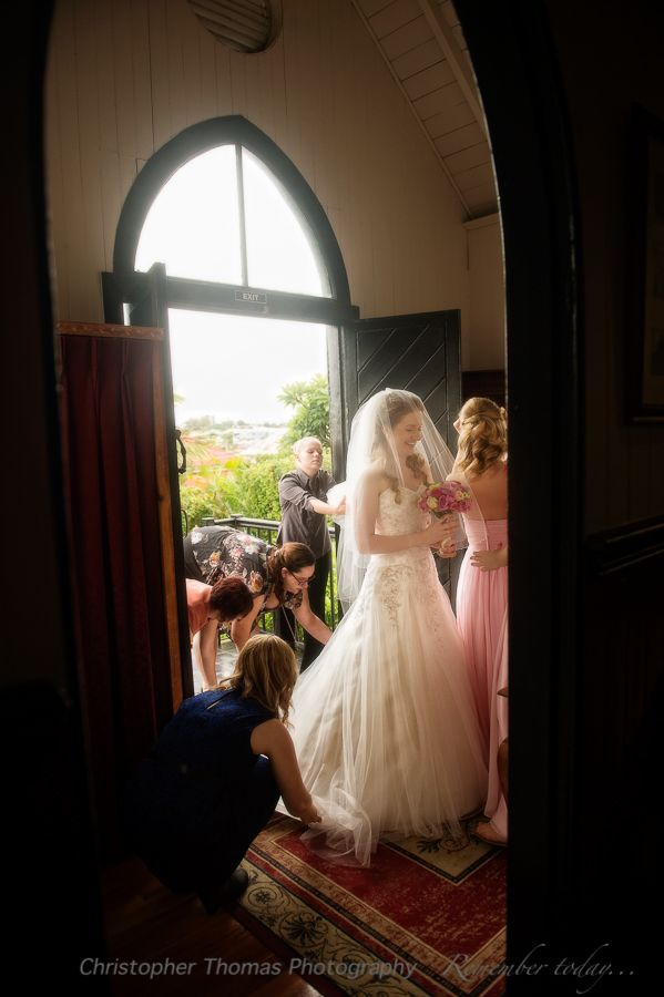 Brisbane Wedding Photographers - Broadway Chapel,  Christopher Thomas Photography