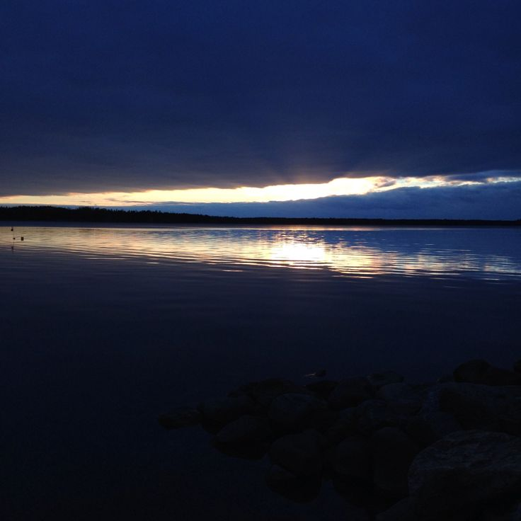 October Sunset. Rauma, Finland