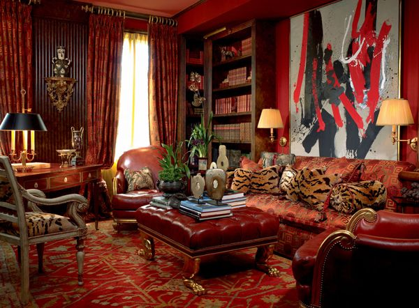 William R. Eubanks » Interior Design and Antiques » Exquisite Spaces » Libraries