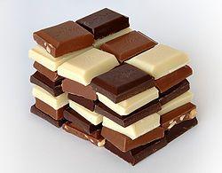 yummmy...שלושת סוגי השוקולד: כהה, לבן וחלב