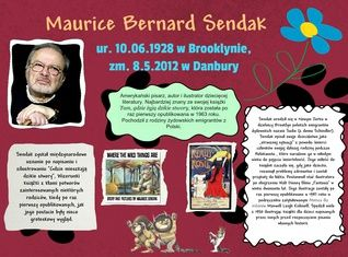 Maurice Sendak (10.06.1928-08.05.2012)