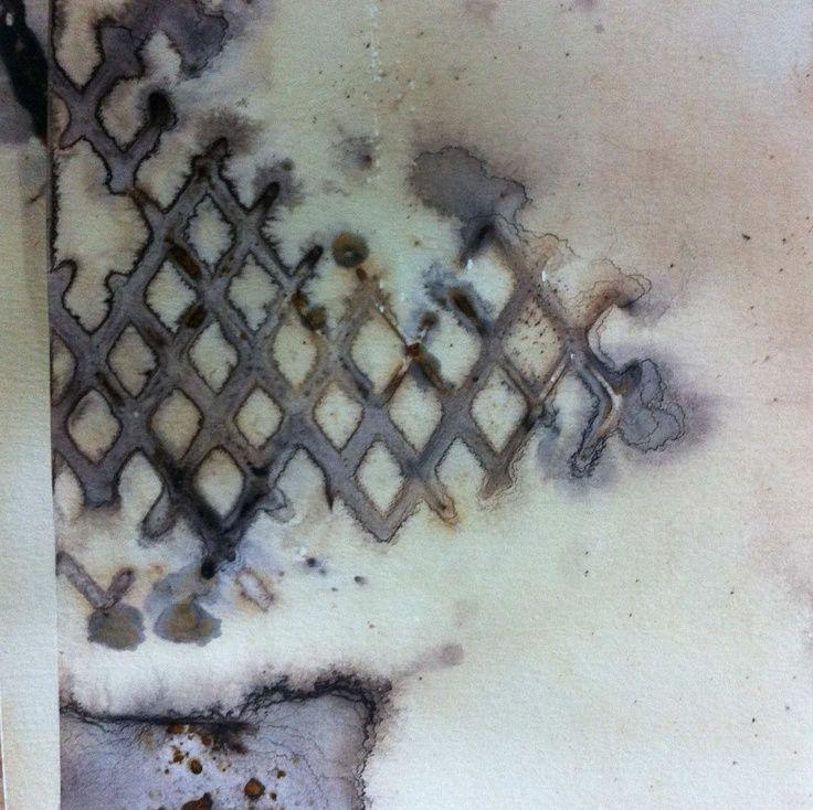 paper, tea, rust by Alice Fox www.alicefox.co.uk