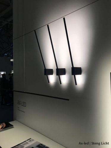 #axled #ax by #stenglicht #steng #wandlamp #lightandbuilding2018 #interiordesign