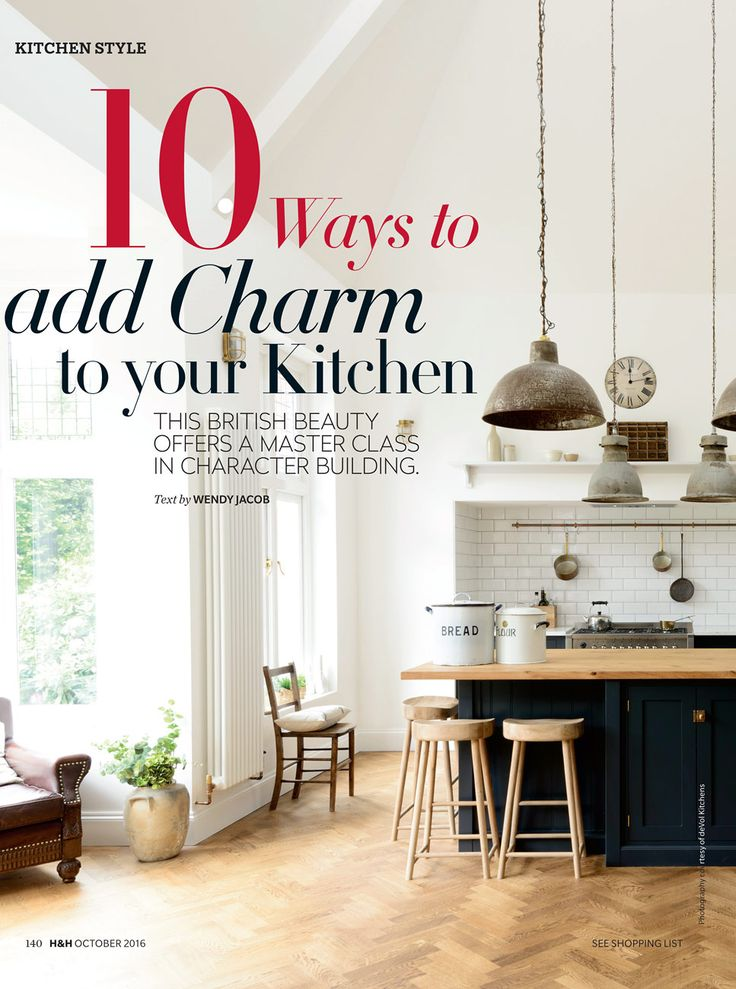the arts and crafts shaker kitchen by devol appeared in canadas house and home in october