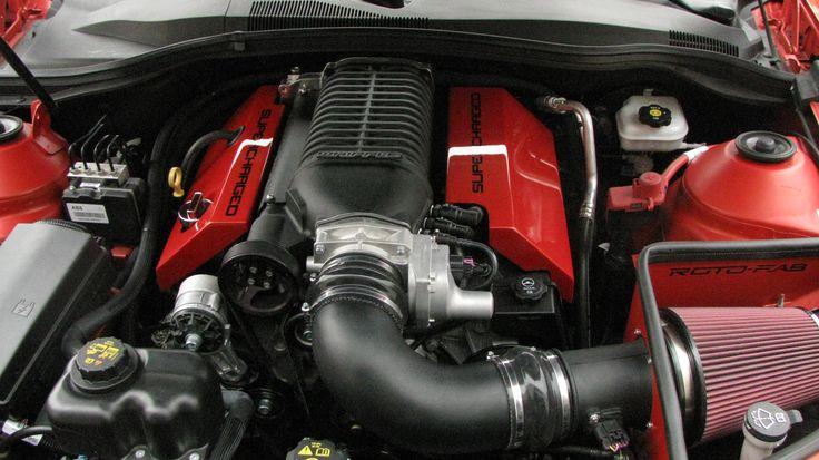 2010-15 Camaro V8 Whipple S/C Cold Air Intake