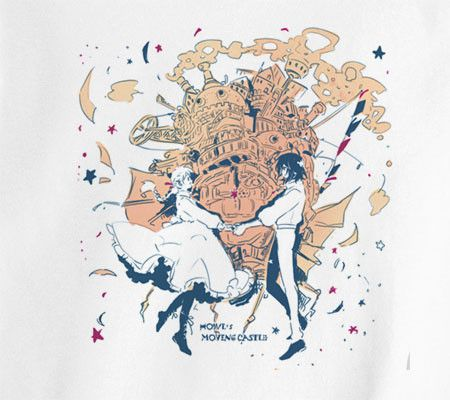 Premium Howl's Moving Castle Tee T-Shirt