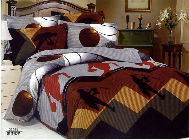 Basketball Bedding Basketball Pinterest Quilt Bed