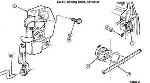 Search Ford aerostar sliding door latch. Views 11342.