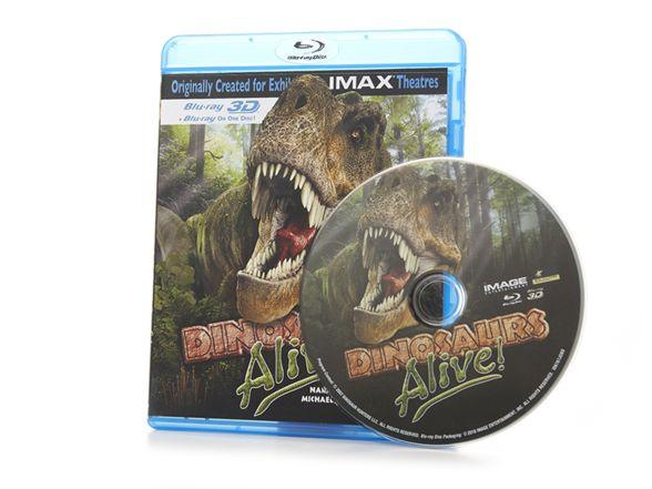 $13.00 IMAX: Dinosaurs Alive! 3D Blu-ray Movie