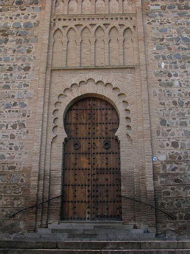 Puerta mudejar, Iglesia de Santiago del arrabal, Toledo | Flickr - Photo Sharing!