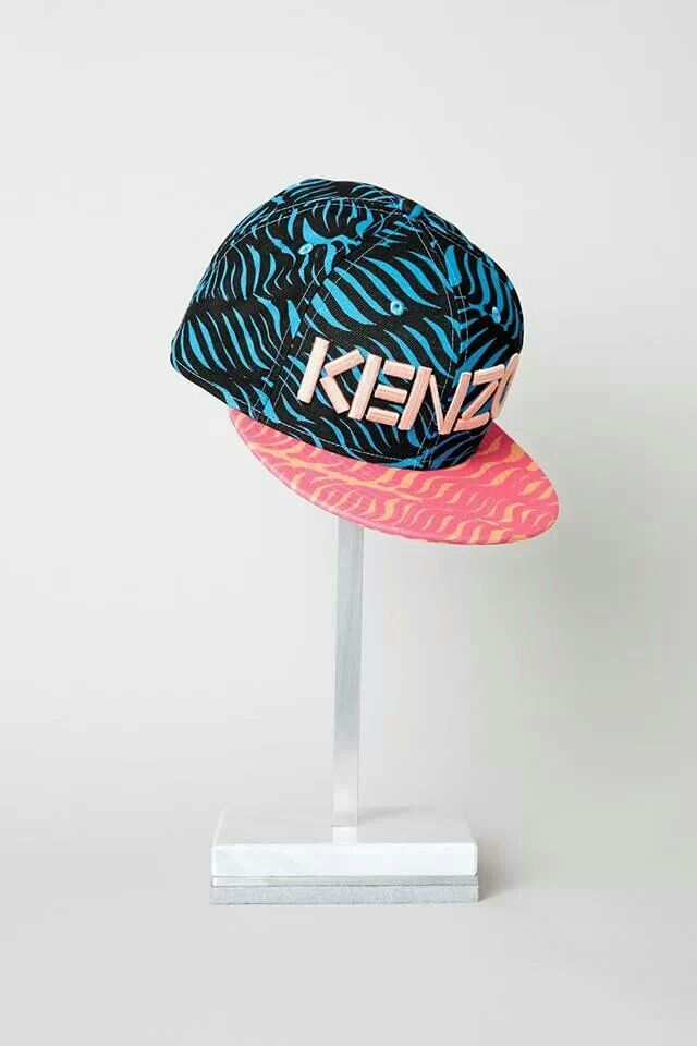 kenzo cap perfect summer style color pattern