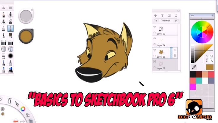 Basics to Sketchbook Pro 6 for Beginners Tutorial Welcome to this tutorial for beginners! You will be learning all the fundamentals on using Autodesk Sketchbook Pro 6. By the end on this instructional tutorial... you should be familiar in using the software to create your artwork.