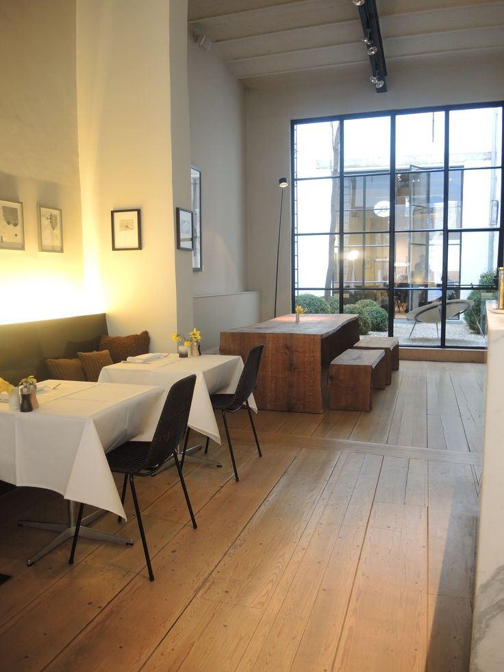 Hotel Julien - Antwerp   Lunchroom with Basket Chair from FeelgoodDesigns.com