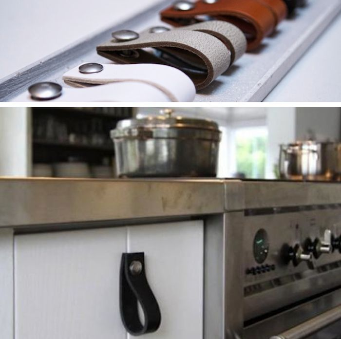Handles For Kitchen Cabinets And Drawers: 1000+ Images About Leather Cabinet And Drawer Pulls On