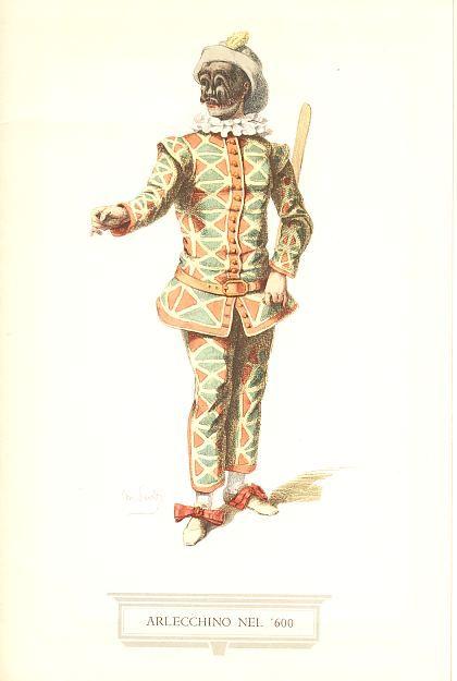 """È la maschera più nota della Commedia dell'Arte. Di probabile origine francese era il personaggio del demone nella tradizione delle favole francesi medievali, nel Cinque-Seicento divenne maschera dei Comici dell'Arte, con il ruolo del """"secondo Zani"""" il servo furbo e sciocco, ladro, bugiardo e imbroglione, in perenne conflitto col padrone e costantemente preoccupato di racimolare il denaro per placare il suo insaziabile appetito."""